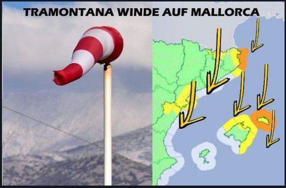 tramontana wind - kitesurf à Majorque