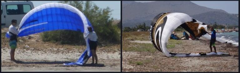 tratamiento especial a los foils de flysurfer