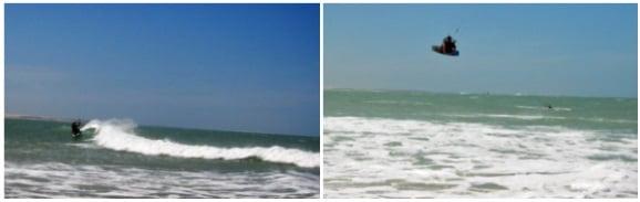 5 las olas del kite spot de Pecem