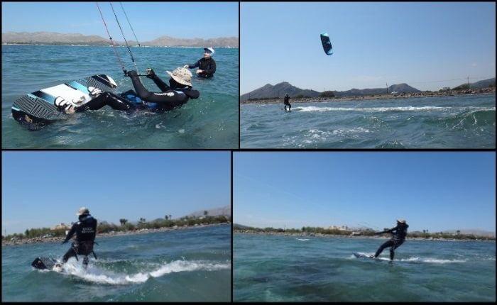 Es posible aprender kitesurf en 2 o 3 días