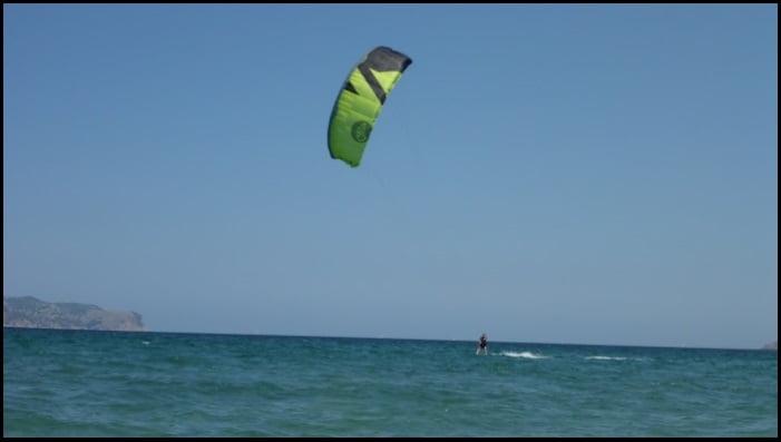 kitesurf à Majorque Bahia de Pollensa