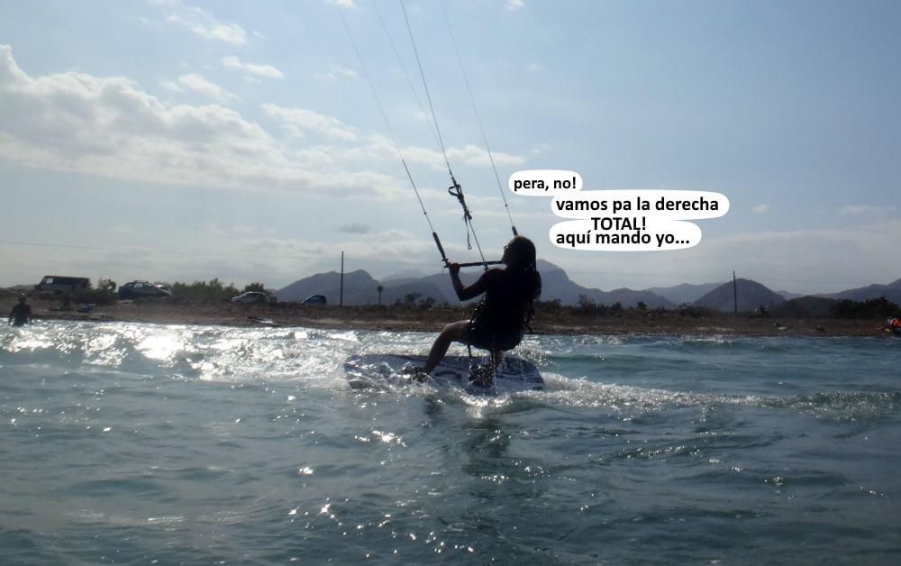 10 clases de kite en Mallorca - Sa Marina kiteschool