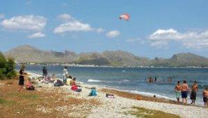 13-bahia de Pollensa - curso de kite para niños