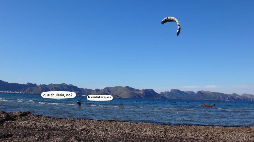 18-que-chuleria-flysurfer-speed-3-kite en mallorca
