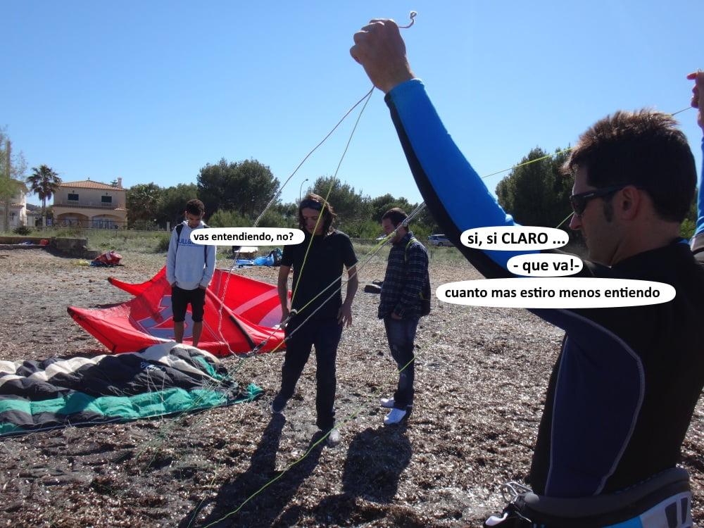 3-clases-de-kite-Pollensa y Alcudia, english-and-deutsche-mallorca