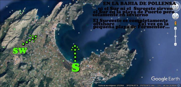 5 Pollensa Bay - vent à Majorque kitesurfing majorque com