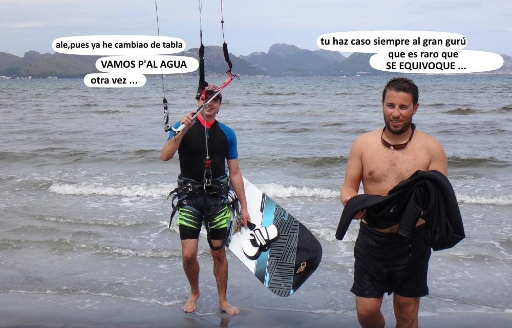 8-kitesurf en-mallorca-marcha-atras-Pollensa-Bay-kiteschool