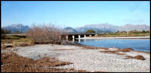 el puente de Sa Marina S'Albufereta