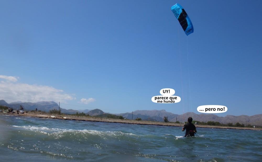 14 alumnos kitesurfing Pollensa - mallorca kiteschool