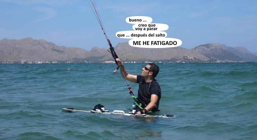22 playas para kitesurfing en Mallorca Josep esta de vuelta en la playa