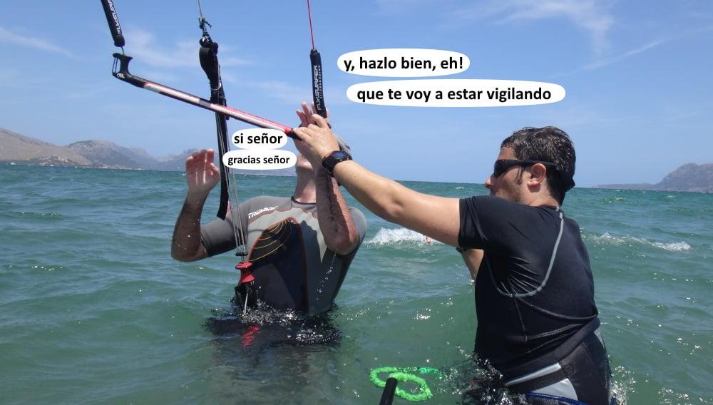 24 playas para kitesurfing en Mallorca - Josep y Carlos