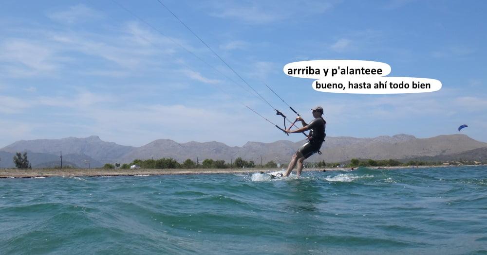 28 playas para kitesurfing en Mallorca - flyboard 170x50