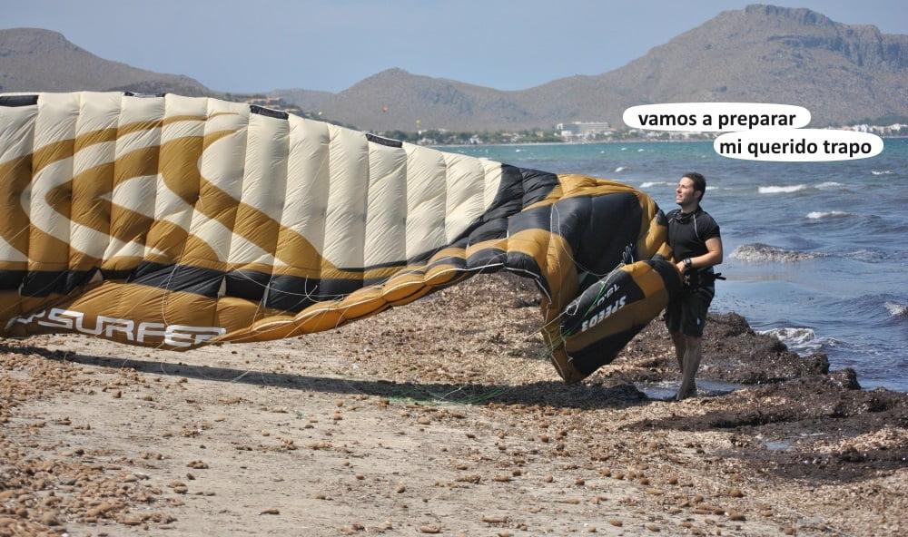 3 playas para kitesurfing en Mallorca - flysurfer kites