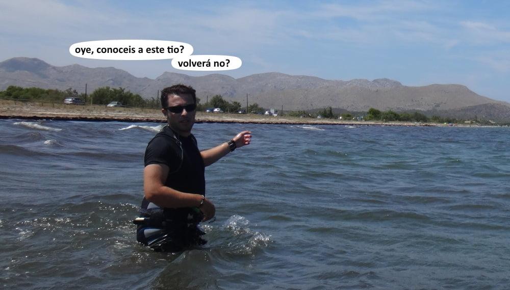 31  playas para kitesurfing en Mallorca - Carlos se ha ido navegando