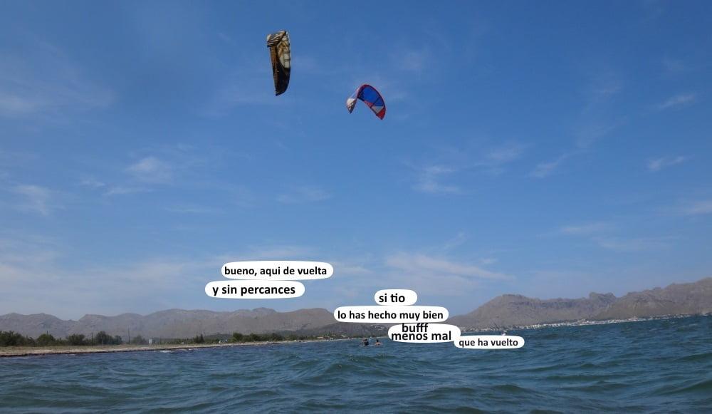 35 playas para kitesurfing en Mallorca viento suve en Pollensa