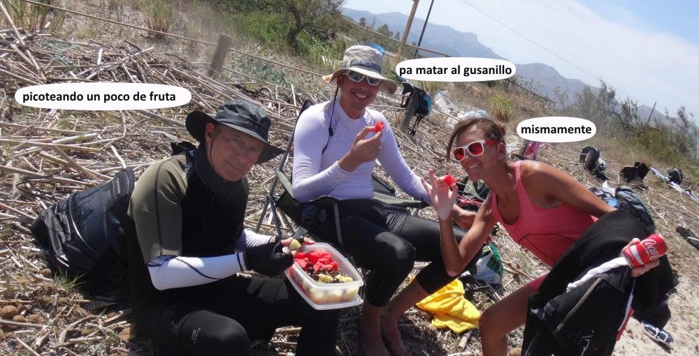 38 playas para kitesurfing en Mallorca - socios del club en fin de semana