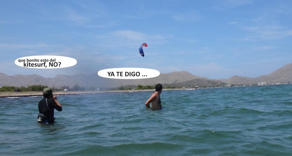 4 playas para kitesurfing en Mallorca asociacion aprende a navegar