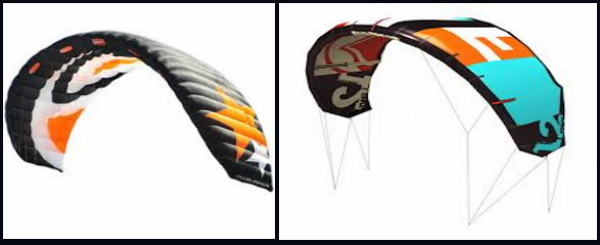 5 foil kite vs tube kite, mallorca-kitesurfen blog