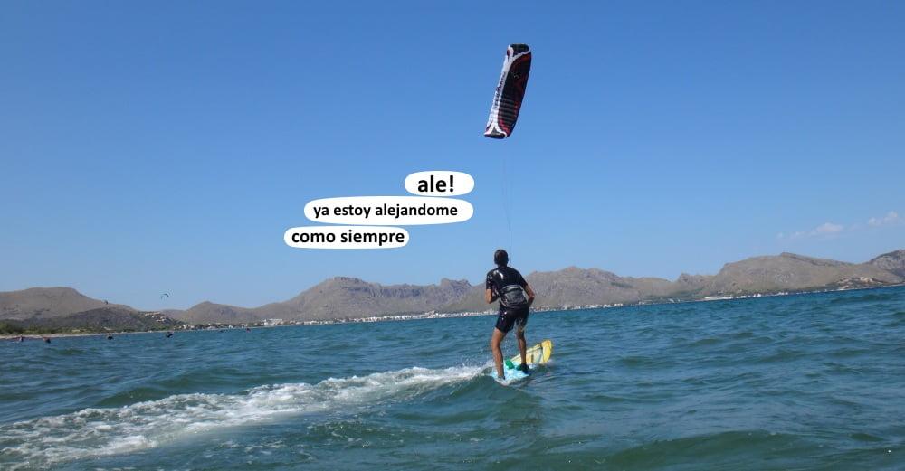 7 - Flysurfer Speed 4 clases de kite en Mallorca Pollensa