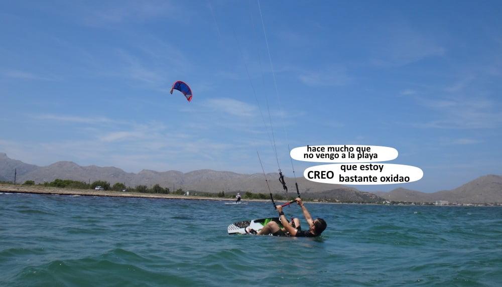 7 playas para kitesurfing en Mallorca aprendr kite en Alcudia