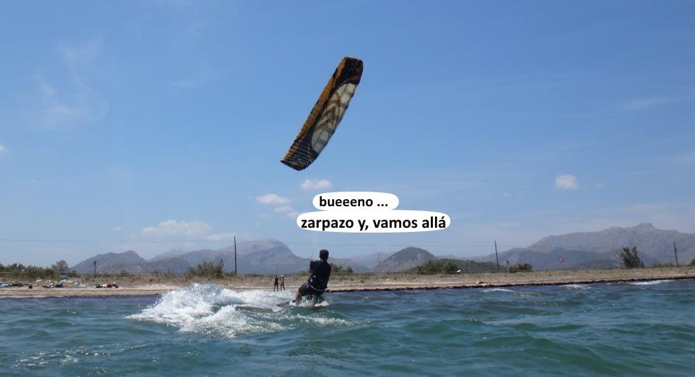 8 playas para kitesurfing en Mallorca Flysurfe Speed 3 - 19 mts