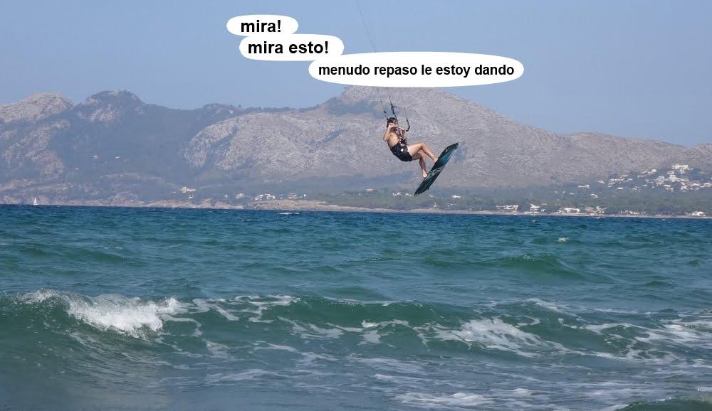 11 kitesurf en Mallorca - cursos en Palma