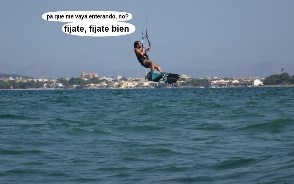 17 kitesurf en Mallorca - cursos en Pollensa escuela de Sa Marina