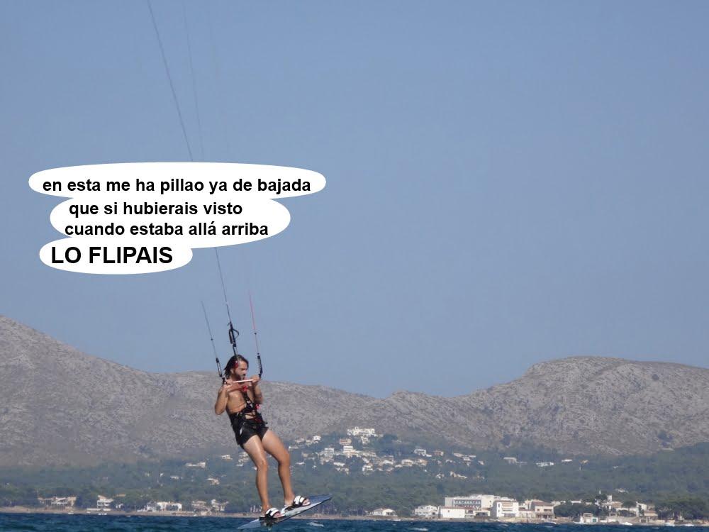 25 kitesurf en Mallorca - cursos en Pollensa Ses Capellans