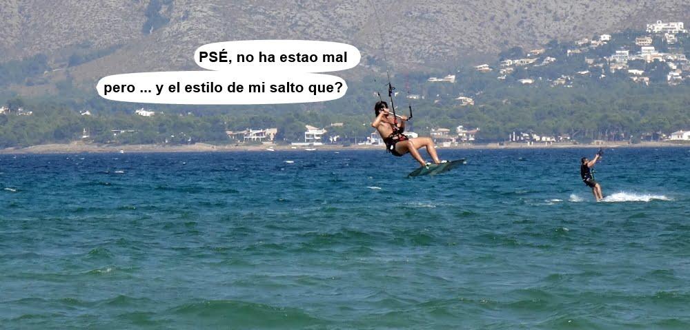 7 kitesurf en Mallorca - cursos en Pollensa escuela de kite