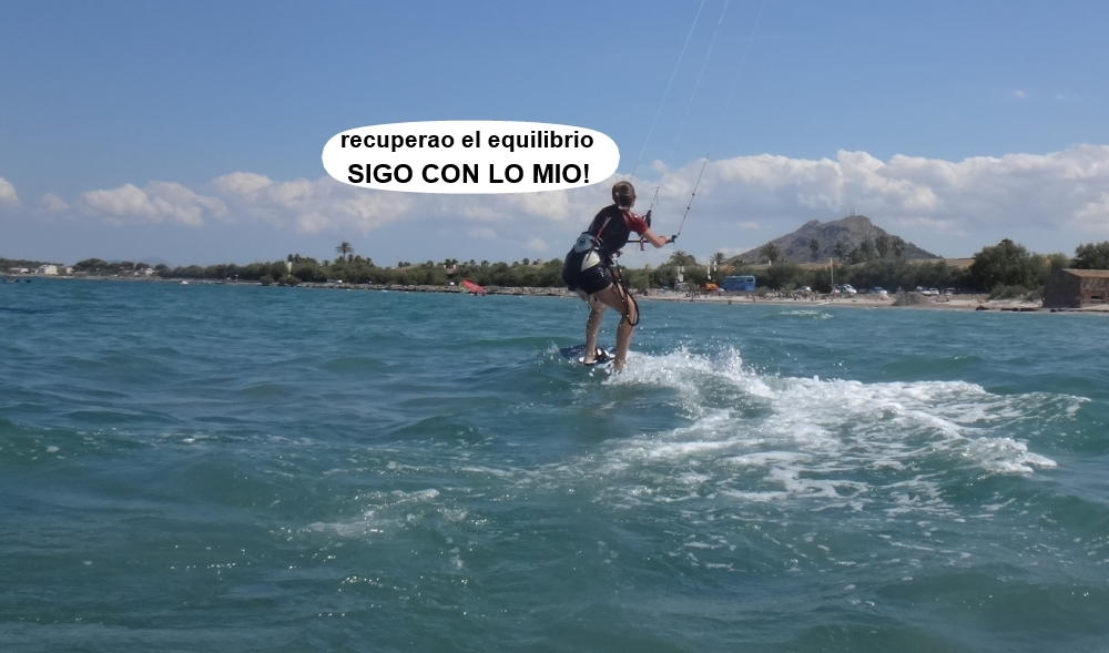 12 cursos de kitesurfing en Mallorca equilibrio recuperado