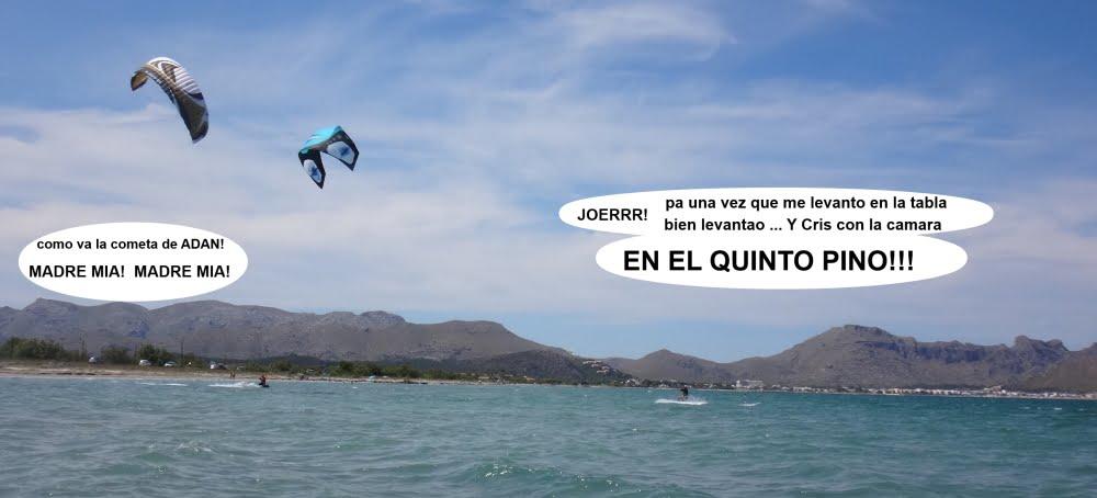 13 cursos de kitesurf en Mallorca kitesurfing en Pollensa