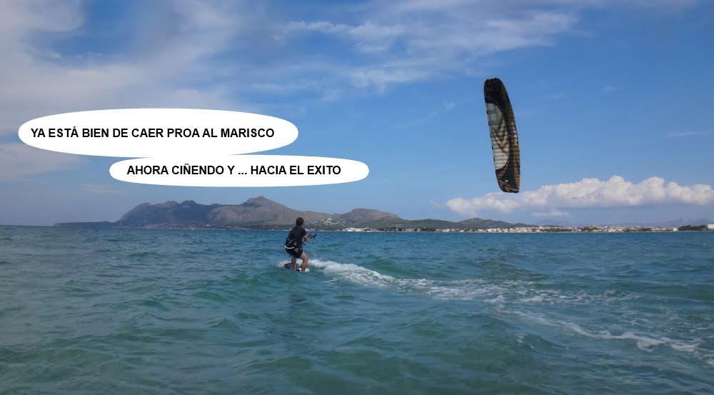 14 cursos de kitesurfing en Mallorca ahora si que si