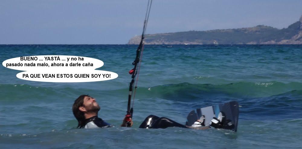 16 cursos de kitesurf en Mallorca Miguel