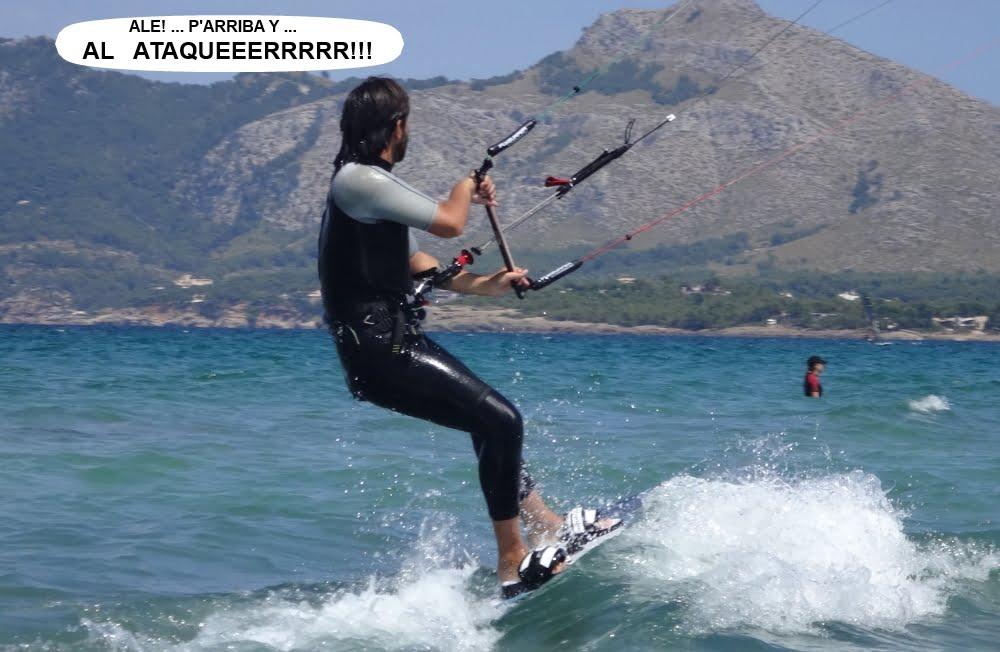 17 cursos de kitesurf en Mallorca socios y alumnos