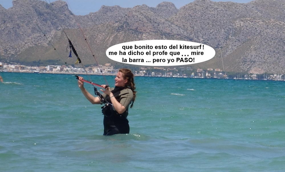 2 cursos de kitesurf en Mallorca Pollensa
