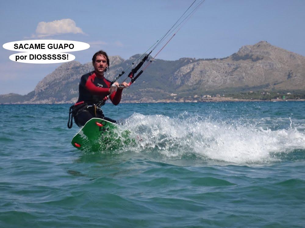 4 cursos de kitesurfing en Mallorca fotos de kitesurf