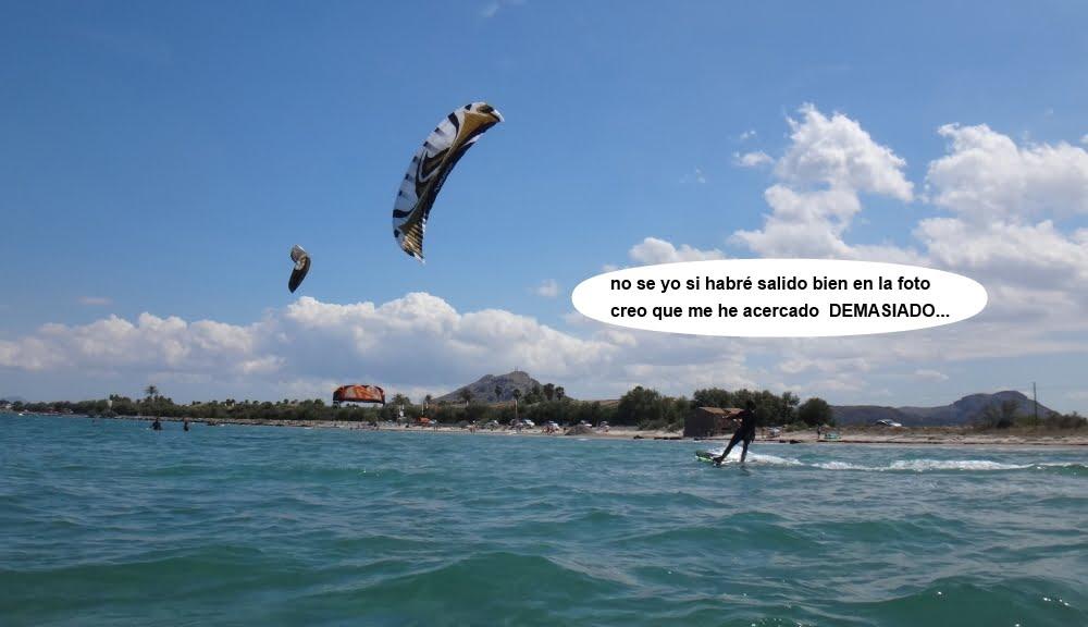 5 cursos de kitesurfing en Mallorca cerca de la camara