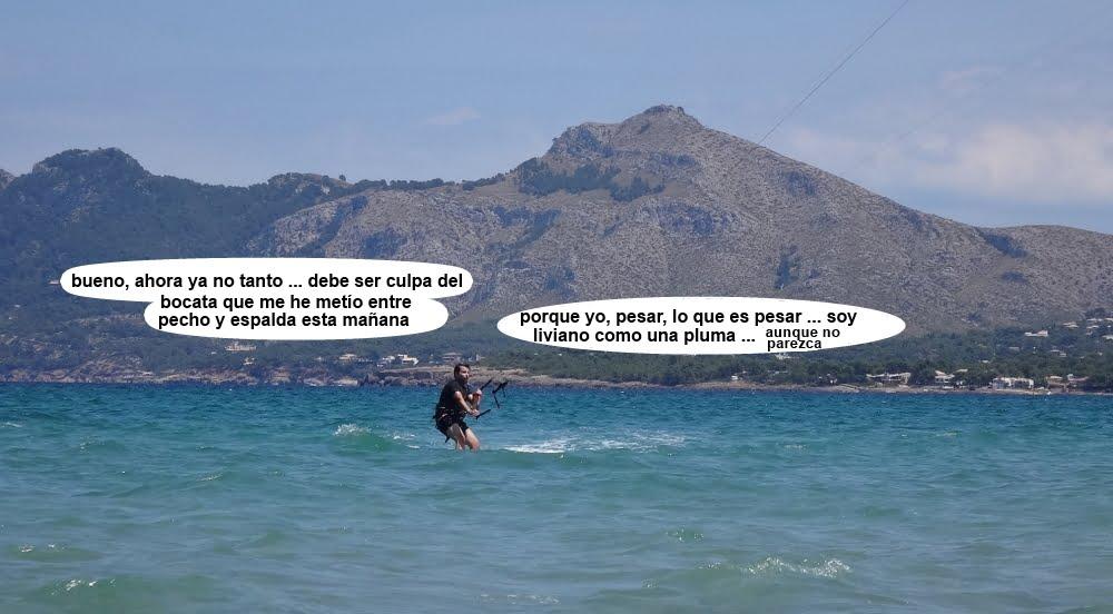 6 cursos de kitesurf en Mallorca se llama Josep
