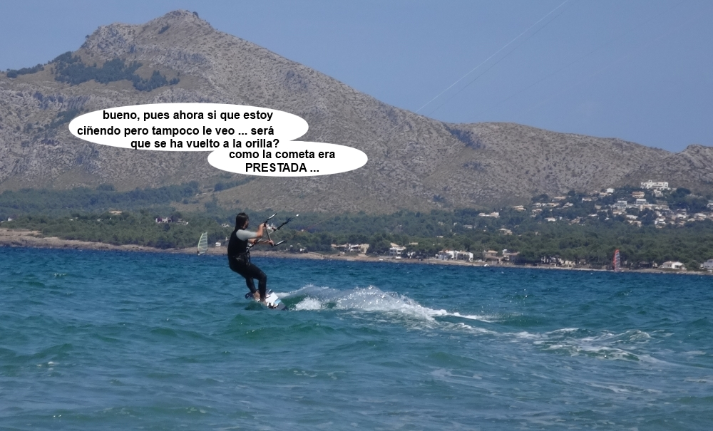 7 cursos de kitesurfing en Mallorca con Miguel