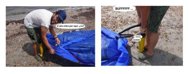 7 kites-de-tubo-aprender-kitesurf-en-mallorca-en-Julio-www-mallorcakiteschool-com-escuela-de-kite