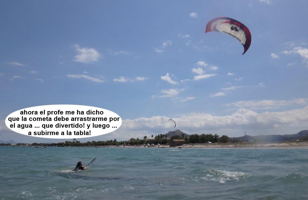 8 cursos de kitesurf en Mallorca cerca de Sa Marina