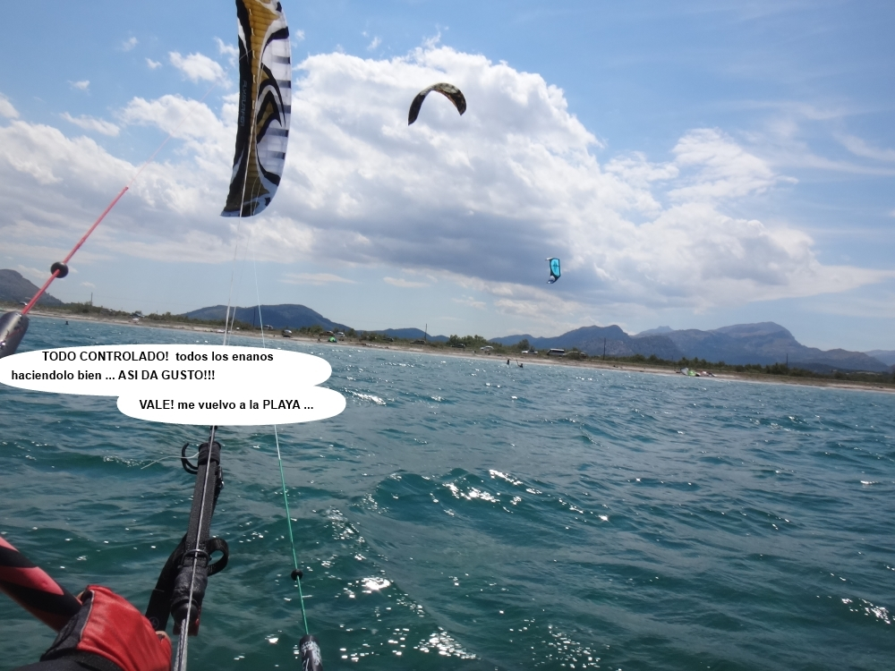 9 cursos de kitesurf en Mallorca la playa del Pollentia Club